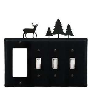 Deer and Pine Trees   GFI, Switch, Switch, Switch Electric