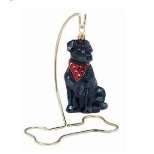 DOG BONE Brass Metal Ornament Stand NEW 5 Great Display