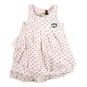 IKKS Polka Dot Dress, Pink Baby