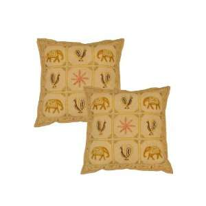 Embroidered Indian Traditional Cushion Cover Home Decor