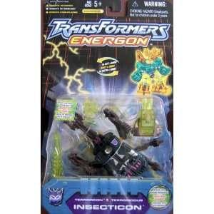 Energon   Terrorcon Insecticon W/comic Book (2003) Toys & Games