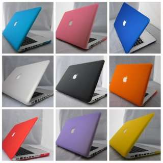 Rubberized Hard Case Cover For Macbook PRO 13/13.3 INCH.15/15.4 INCH