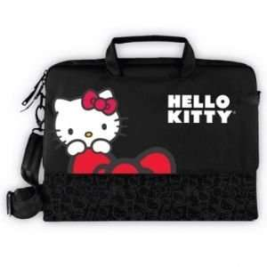 Hello Kitty Laptop Case  Black Electronics