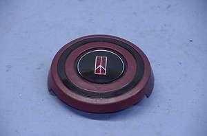 Sport Steering Wheel Spoke Center Horn Cap Button Emblem Pad