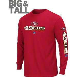 San Francisco 49ers Big & Tall Primary Receiver II Long