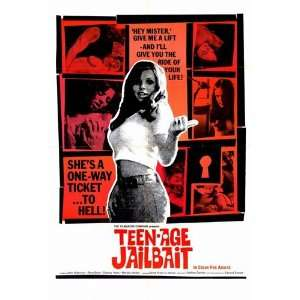 Teenage Jailbait Beautiful MUSEUM WRAP CANVAS Print with