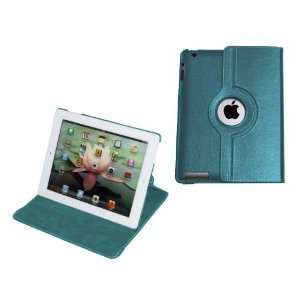 MiTAB Rotating Blue Bycast Leather Case / Cover & Anti