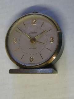 Vintage Old Linden Alarm Clock Made In Germany