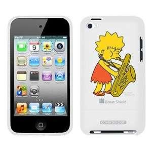 Lisa Simpson on iPod Touch 4g Greatshield Case