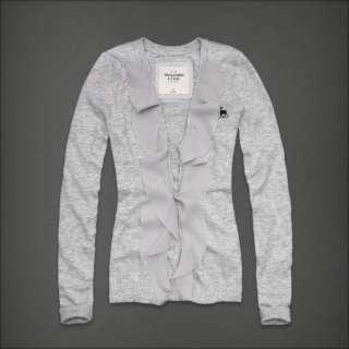 NWT Abercrombie & fitch Women Keegan Cardigan Sweater Shirt 2011 New