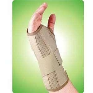Wrist Brace Left Hand, Extra Large, Black