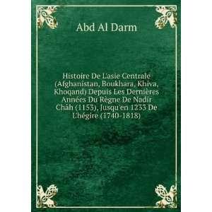 es du: Abd al D, Bukhari Abd al Karm Mir Abdoul Kerim Boukhary: Books