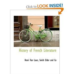 Literature (9781140245100) Henri Van Laun, Smith Elder and Co Books