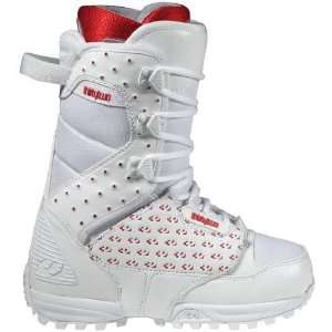 32 Lashed Womens (White/Red 8) Boots