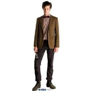 Dr. Who The Doctor Matt Smith 73 X 26 Inch Cardboard Cut