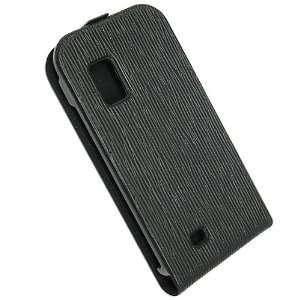 Malcom Distributors Black Pattern Flip Phone Case for
