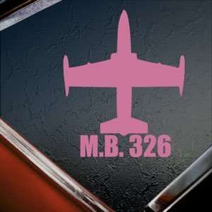 M.B. 326 Pink Decal Military Soldier Truck Window Pink