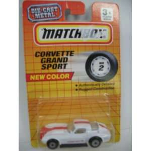 Matchbox Corvette Grand Sport 164 Die Cast #2 Toys & Games