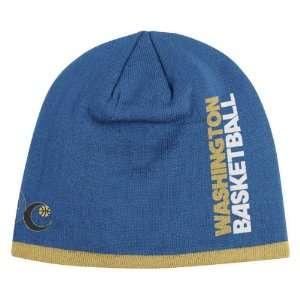 WASHINGTON WIZARDS NBA CUFFLESS TEAM KNIT BEANIE HAT/CAP