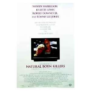 Natural Born Killers 27 x 40 Movie Poster, Harrelson, C