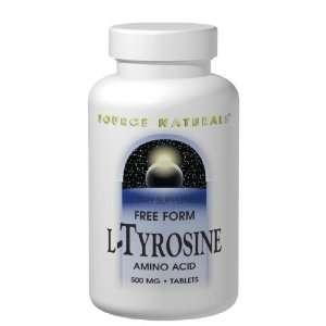 Tyrosine 50 Tabs 500 Mg (Free Form Amino Acid)