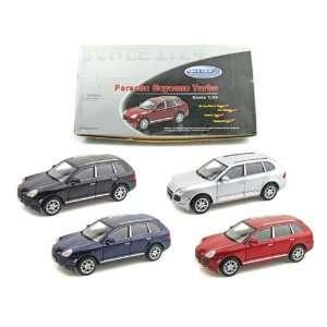 Porsche Cayenne Turbo 1/24 Set of 4 Toys & Games