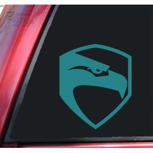 G.I. Joe / GI Joe Movie Logo Vinyl Decal Sticker   Teal