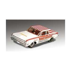 Ramchargers 1964 Dodge 330 Super Stock Plastic Model Kit Toys & Games