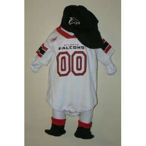 NFL New Atlanta Falcons 3 Piece Onesie Creeper Size 12