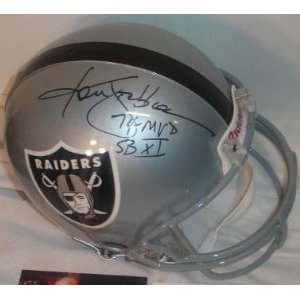 Ken Stabler Autographed/Hand Signed Oakland Raiders Full Size