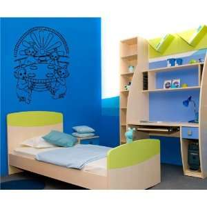 TELETUBBIES BABY ROOM NURSERY WALL VINYL STICKER DECALS ART MURAL D478