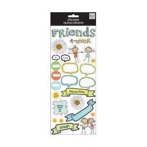 Sayings Stickers 5.5X12 Sheet   Best Friends Forever Best Friends