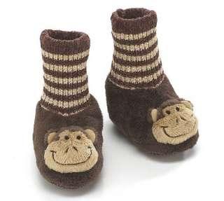 KoKo Monkey Animal Plush Slipper Brown House Shoe Socks Gift