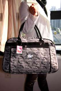 Hello Kitty gray travel bag shoulder bag luggage NEW #2