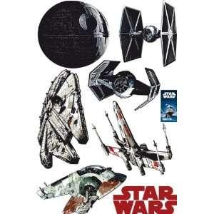 Star Wars Classic   6 Piece Wall Tattoo / Sticker Set