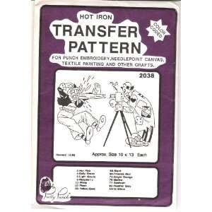 Hot Iron Transfer Pattern