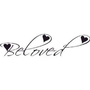 Beloved Wall Art Decal Decor Love 7x22 Romance