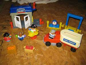 Fisher Price Little People  Big Rig Store Set |