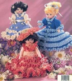 Sweet Scents Dolls, air freshener doll crochet patterns