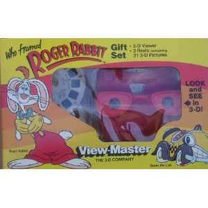 Who Framed Roger Rabbit View Master With 3 Reels