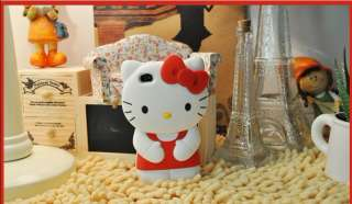 Hot Hello Kitty Cute 3D hard Back Case Cover Skin for iPhone 4 4G 4S