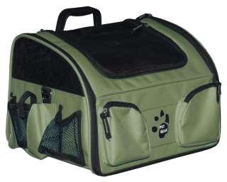 Pet Gear 3 in 1 Dog Bike Basket Car Carrier Seat Airline 16lbs GRN