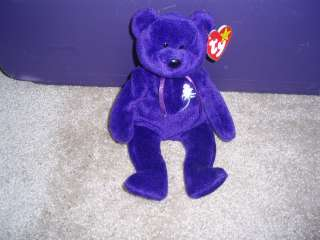 CUTE Beanie Baby! Princess Diana tribute