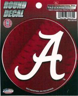 Alabama Crimson Tide Vinyl Decal Car Window Sticker New 094746362751