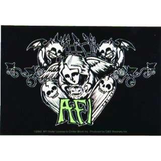 AFI   Angel, Pumpkin, Skulls with Logo   Sticker / Decal