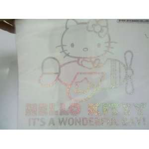 Hello Kitty Self adhesive Decal   Airplane