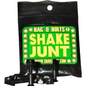 Shake Junt Bag O Bolts Blacks 7 8(allen) 1set Skateboarding