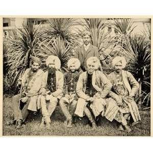 1893 Chicago Worlds Fair Men Ceylon Costume Singhalese