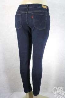 Levis Jeans Leggings Fits Every Body Indigo Rinse Wash Womens Denim