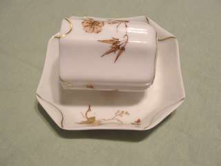 100 YEAR OLD HAVILAND LIMOGES NAPKIN FOLD DEMITASSE CUP & SAUCER W